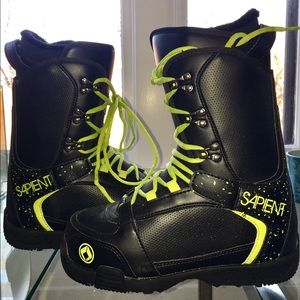 Sapient Snow board Boots - Sz 9 used once. I tried
